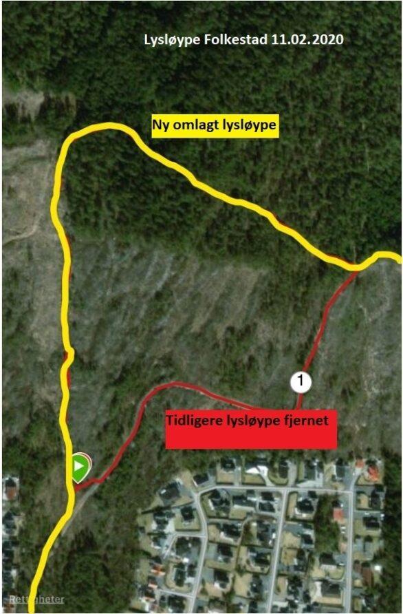 Lysloype Folkestad 11 02 2020