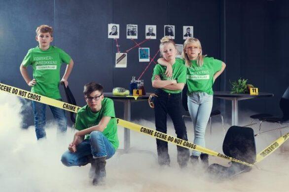 Forskerfabrikken Crime Scene